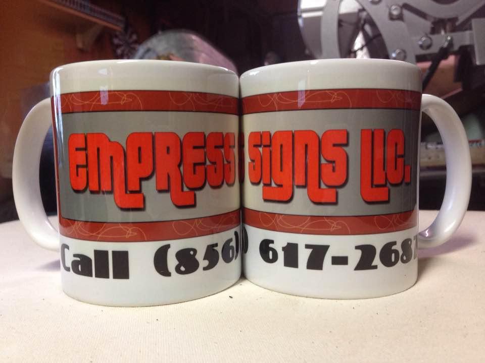 Logo on Mug, Printed Mugs, Sublimated Mugs, 11 Oz Mugs, Order One Mug, Promotional Mugs,