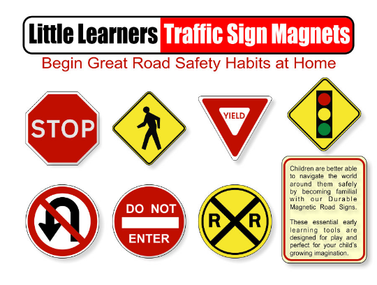 educational traffic signs magnetic traffic signs safety