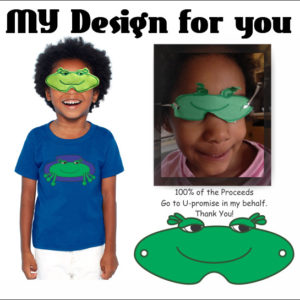 SleepyFrog, Sleep Mask for Kids, Child Sleep Mask, Pajama, Pajama Set, Children's Gifts, Children, KID,
